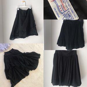 Dresses & Skirts - BLACK SKIRT LOT - size sm/med